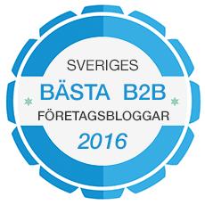 Sveriges bästa B2B företagsbloggar 2016