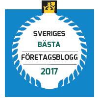 Sveriges bästa företagsbloggar 2017