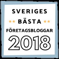 Sveriges bästa företagsbloggar 2018